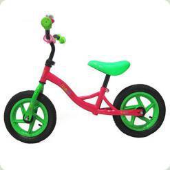 Беговел Profi Kids M 3129-4A Рожевий/Зелений