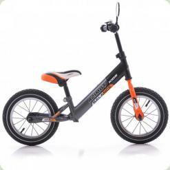 """Беговелы Azimut Balance Bike Air 12 """"Графіт-помаранчевий"""