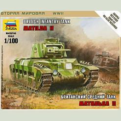"""Британський середній танк """"Матильда II"""""""