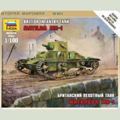 """Британський середній танк """"Матильда МК-I"""""""