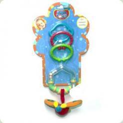 Брязкальце-підвіска з кільцем і прорезивателей Biba Toys Літачок (109PP)