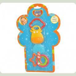 Брязкальце-прорізувач Biba Toys Корівка (097PP)