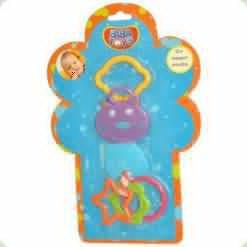 Брязкальце-прорізувач Biba Toys Кошеня (098PP)
