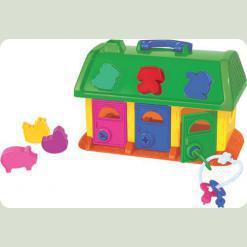 Будиночок для звірів (у сіточці)
