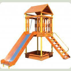 Дерев'яний ігровий комплекс «Казка»