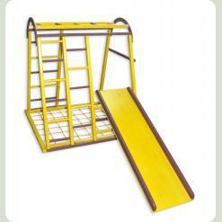 Дитячий спортивний комплекс Дракончик жовтий