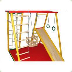 Дитячий спортивний комплекс з додатковим обладнанням