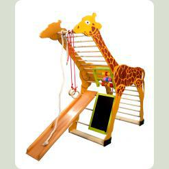 Дитячий спортивний куточок для малюків - Жираф