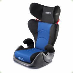 Дитяче автокрісло Sparco синього кольору