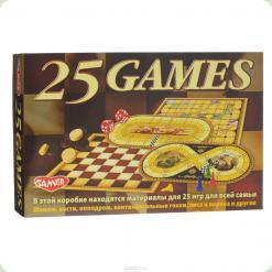 """Дитяча настільна гра """"25 ігор для всієї родини"""""""