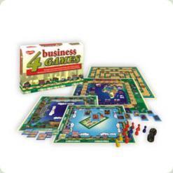 """Дитяча настільна гра """"4 економічні ігри"""""""