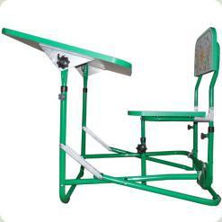 Дитяча парта- трансформер OMMI Зелений