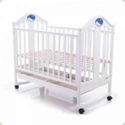 Дитяче ліжко Babycare BC-433M Екстра ламель Білий