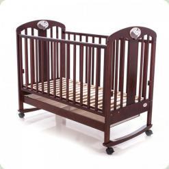 Дитяче ліжко Babycare BC - 435M Класик ламель Горіх