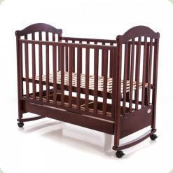 Дитяче ліжко Babycare BC - 475R Ламель Темний горіх