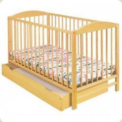 Дитяче ліжко Klups Radek II (з ящиком ) Сосна