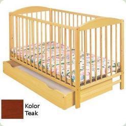 Дитяче ліжко Klups Radek II (з ящиком ) Тік