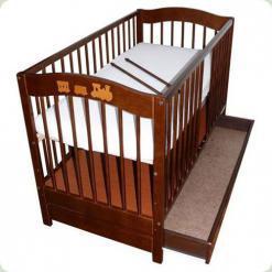 Дитяче ліжко Klups Radek V (з ящиком ) Горіх