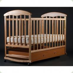 Дитяче ліжко Наталка з ящиком Ясень Світла