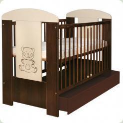 Дитяче ліжко з ящиком Drewex Maly Mis