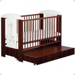 Дитяче ліжко з ящиком Klups Safari Zyrafka