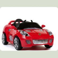 Дитячий електромобіль Ferrari KL 106 R - 12V, 2 мотора Червоний