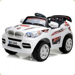 Дитячий Електромобіль Festa Джип BMW серії X білий на радіокеруванні