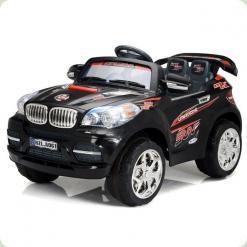 Дитячий Електромобіль Festa Джип BMW серії X чорний на радіокеруванні