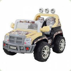 Дитячий Електромобіль Hummer, бежевий