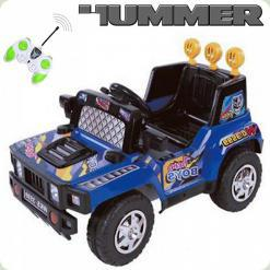 Дитячий Електромобіль Hummer, синій