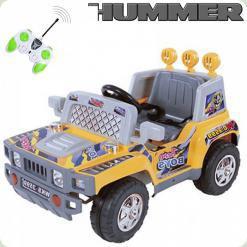 Дитячий Електромобіль Hummer, жовтий