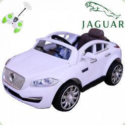 Дитячий електромобіль Jaguar FT 8118, білий