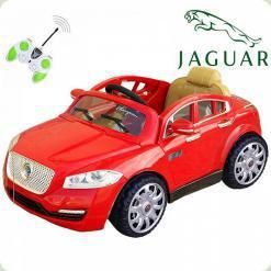 Дитячий електромобіль Jaguar FT 8118, червоний