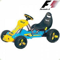 Дитячий Електромобіль Картинг, блакитний