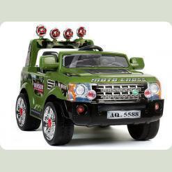 Дитячий електромобіль Land Rover J012 - Зелений