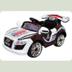 Дитячий електромобіль М 0559 Audi з радіоуправлінням (коричневий)