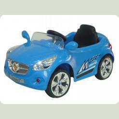Дитячий електромобіль Машина Мерседес M 0582 на радіокеруванні (блакитна