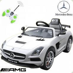 Дитячий електромобіль Mercedes-Benz, білий