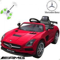 Дитячий електромобіль Mercedes-Benz, червоний