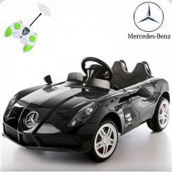 Дитячий електромобіль Mercedes-Benz SLR McLaren, чорний
