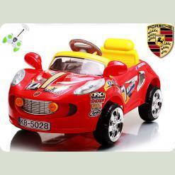 """Дитячий Електромобіль з пультом керуванням """"Maserati"""" Червоний"""