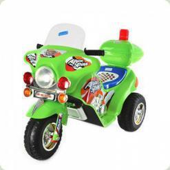 Дитячий електромобіль ZP 9983-5 мотоцикл Bambi (зелений)