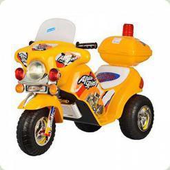 Дитячий електромобіль ZP 9983-6 мотоцикл Bambi (жовтий)
