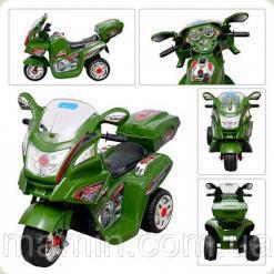 Дитячий мотоцикл BAMBI M 0613R-10 Metr + (Bambi)