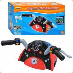 Дитячий мотоциклетний кермо WinFun 5430 NL
