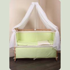 """Дитячий спальний комплект """"Люкс"""" з вишивкою"""