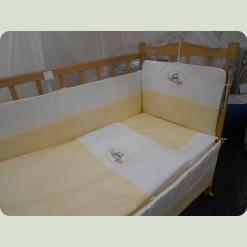 """Дитячий спальний комплект """"Немовля"""" з вишивкою"""