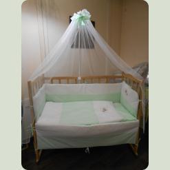 """Дитячий спальний комплект """"Я немовля"""" з вишивкою"""