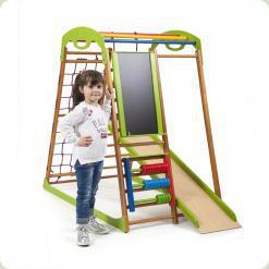 Дитячий спортивний комплекс для будинку BabyWood Plus