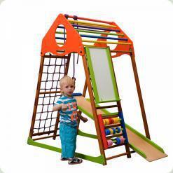 Дитячий спортивний комплекс для будинку KindWood Plus
